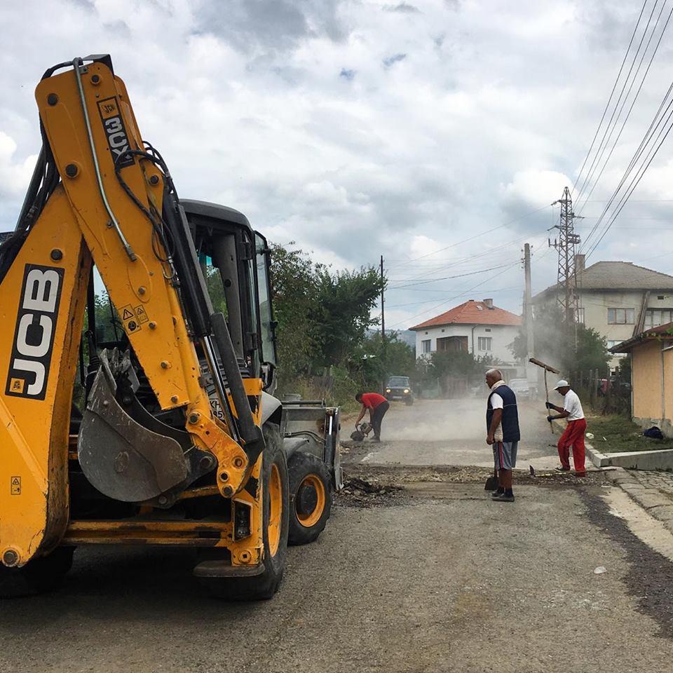"""Започна ремонт на улица """"Трети март"""""""