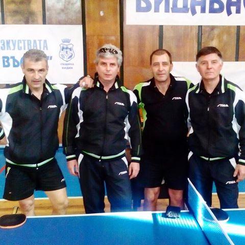 """Тенисистите ни с шест победи на Държавното отборно първенство за мъже – """"Северозападна """"В"""" група"""