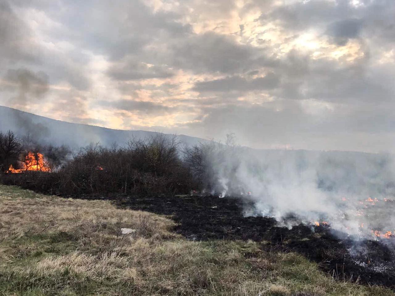 ИЗВЪНРЕДНО: Голям пожар вилнее край Чепърлянци