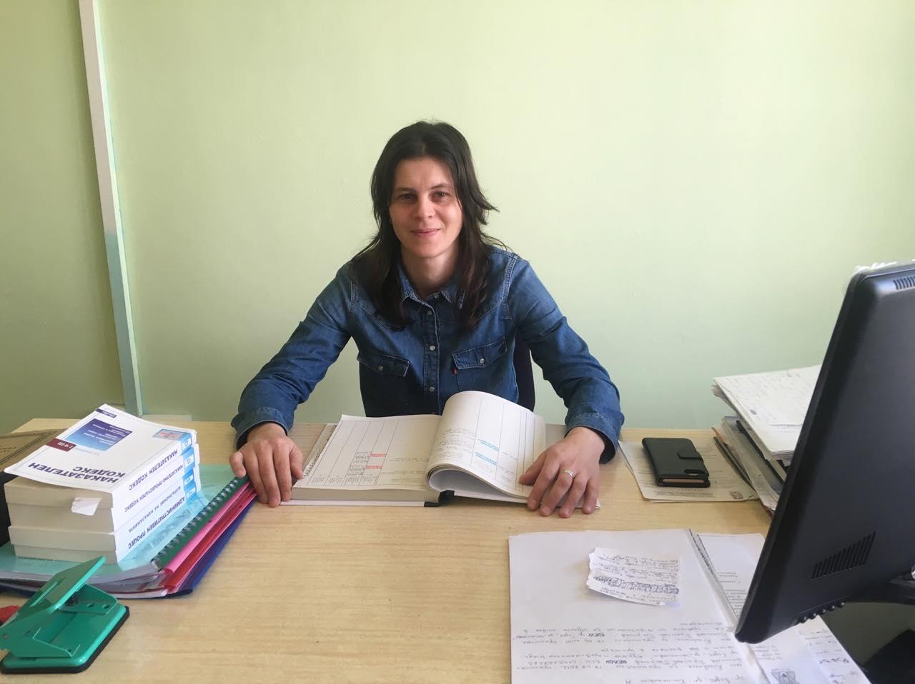 Мариела Славеева е новият инспектор на Детска педагогическа стая в РУ на МВР-Годеч