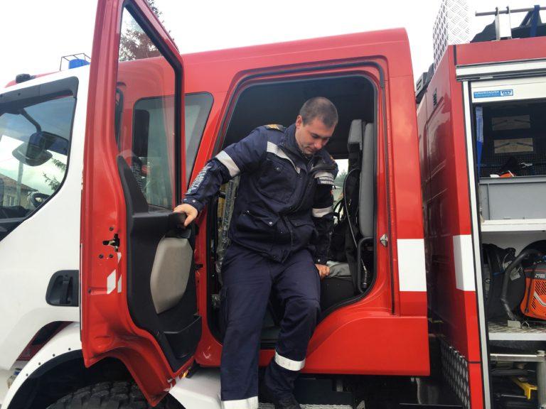 Огнеборецът Радко Христов стана баща за първи път
