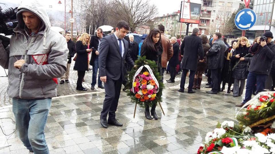 Община Годеч отдаде почит на Апостола в Димитровград